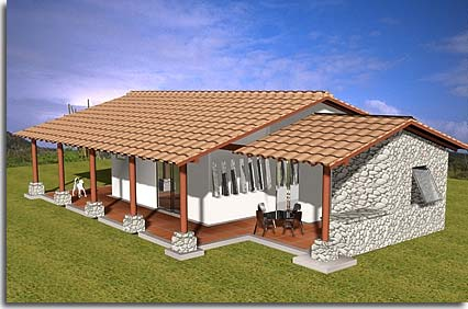 Costa Rica Real Estate home construction in Puriscal Green Mango SA – Costa Rica Home Floor Plans